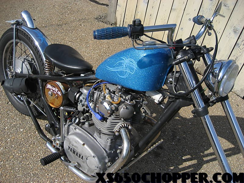 14a7 32 1972 Yamaha xs 650, Rat Rod