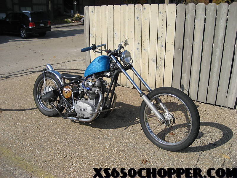 336f 3 1972 Yamaha xs 650, Rat Rod
