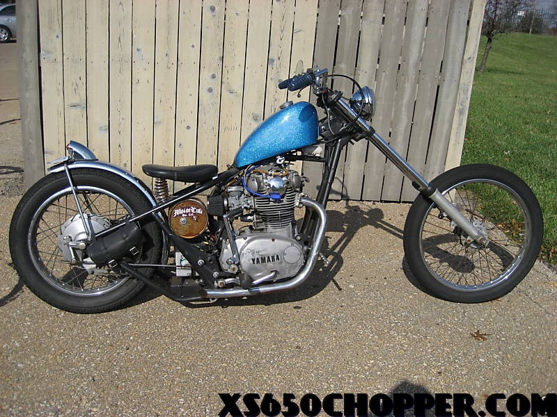 3f1e 3 1972 Yamaha xs 650, Rat Rod