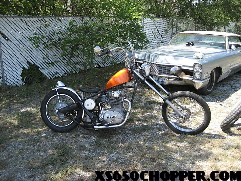 88c5 3 1972 Yamaha xs 650, Rat Rod