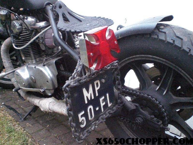 Weed's XS650 Hardtail Chopper