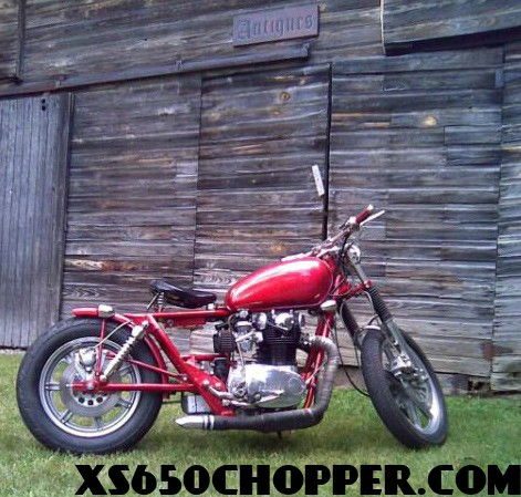 XS650 Bobber Build From Michigan