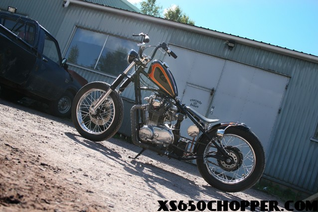 Yamaha XS 650 from Finland