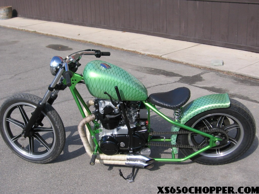 XS650 BOBBER; MOTORCYCLE WAREHOUSE AT IT AGAIN