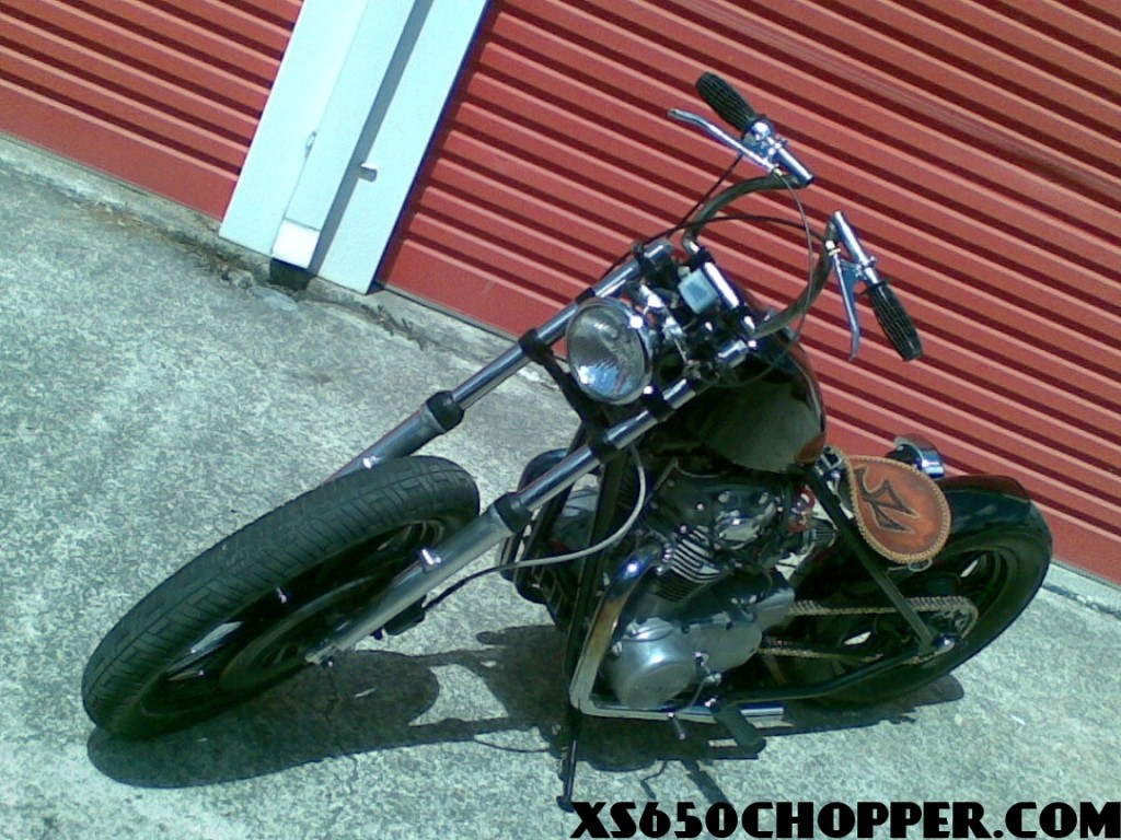 Twig's xs650 chopper