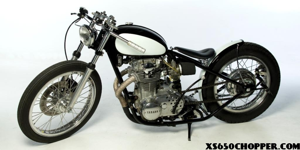 Rephased xs650 chopperxs650 side
