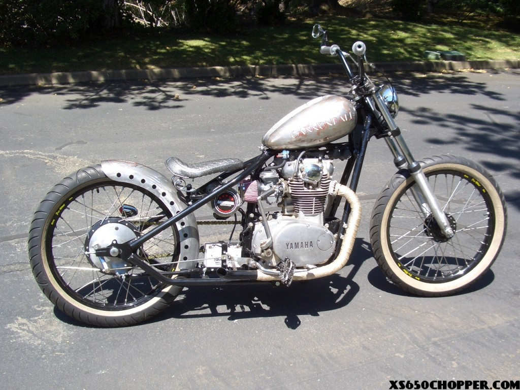 Cannonball xs650 Shop Bike | XS650 Chopper