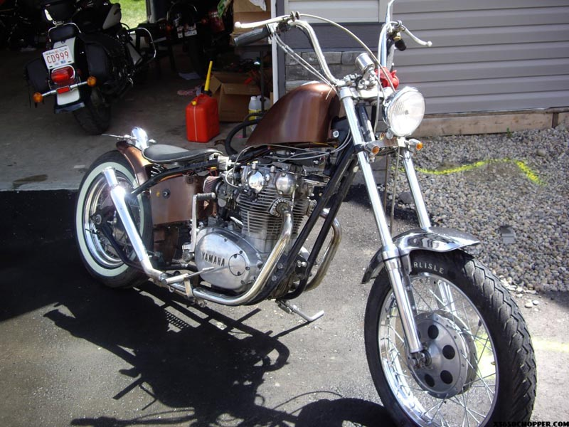 1971 xs chopper Canadian Style