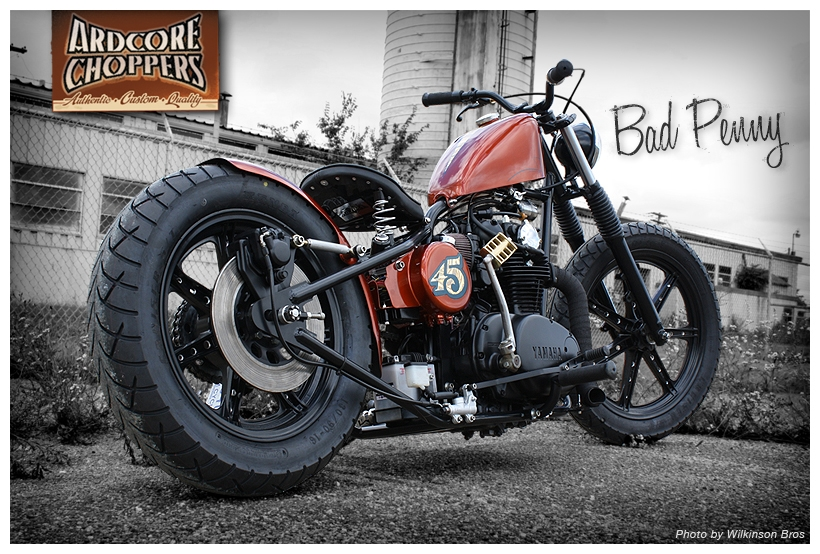 Root Beer Candy xs 650: Ardcore Choppers1