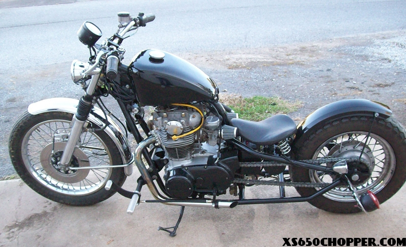78 yamaha xs another bobber