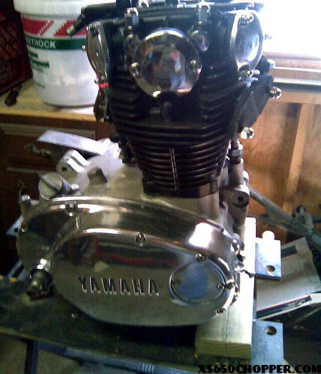 how to clean aluminum motorcycle engine