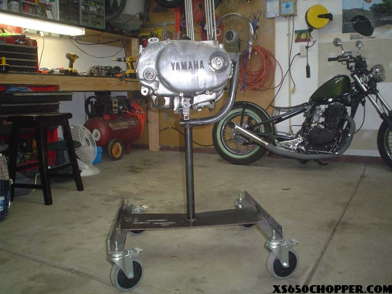 Xs 650 Roller Engine Stand Xs650 Chopper
