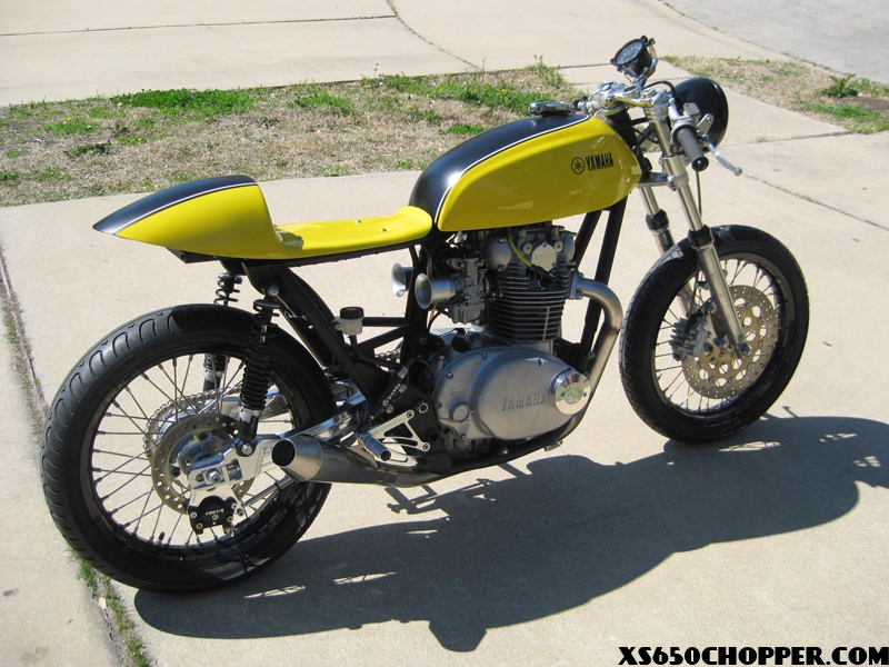 XS650 Cafe – 'The Beast MK2' from the Limey