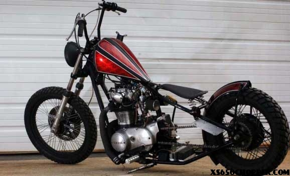 sick xs650 Garage Company Customs