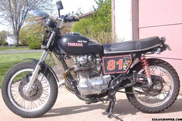 75 Street Tracker Tribute Bike