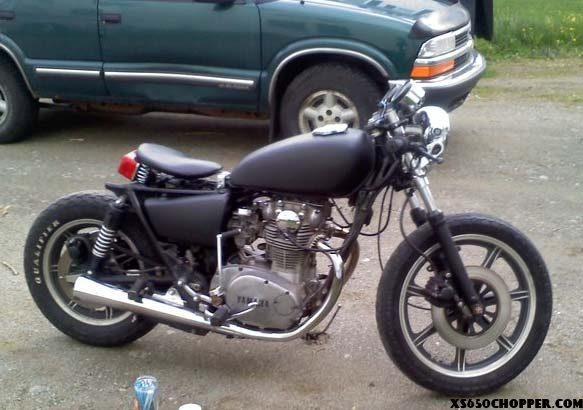 1980 XS650 bobbed out