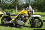 YAMAHA WASP SIDECAR OUTFIT COMBINATION XS650