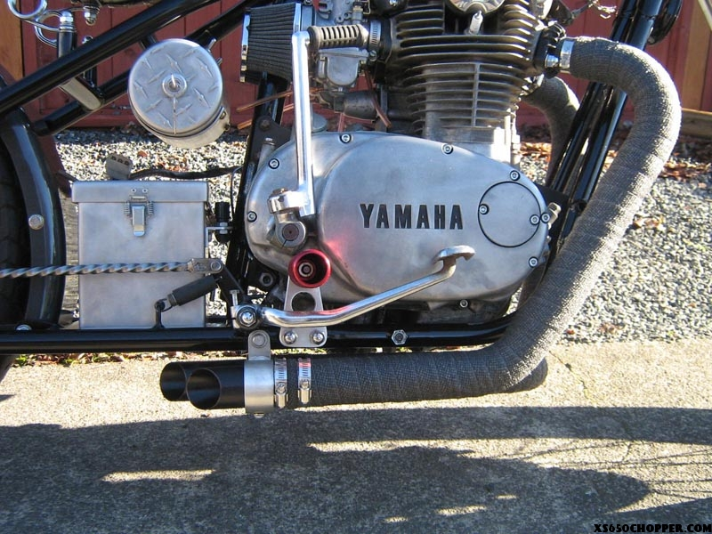 1972 xs650 hardtrail bobber xs650 chopper on XS650 Simplified Wiring Harness for xs650 chopper wiring harness #34 at Custom Motorcycle Wire Harness Kit