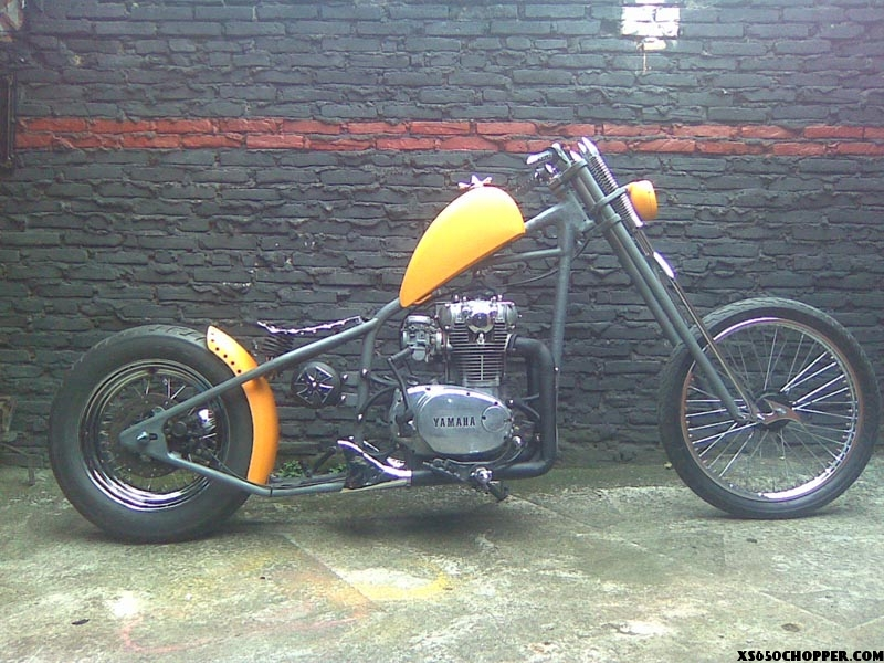 Wild retro chopper  (xs 650 1973)