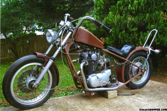 Yamaha XS 650 Bobber / Chopper for sale on 2040-motos