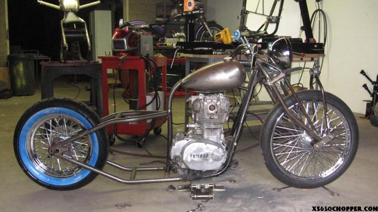 MCW RACING (FORMERLY- MOTORCYCLE WAREHOUSE) | XS650 Chopper