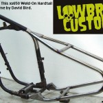 xs650 Weld-On Hardtail