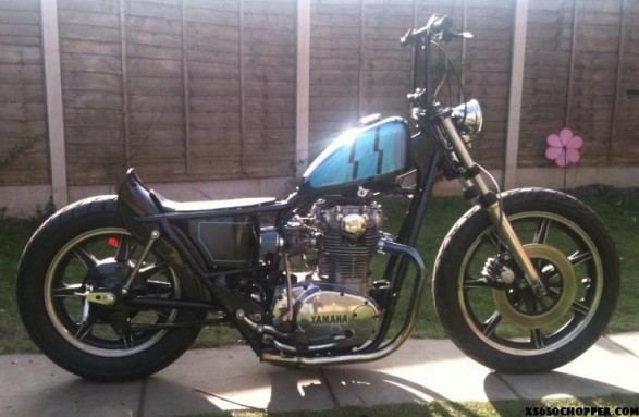 1978 xs650 bobber from the uk.