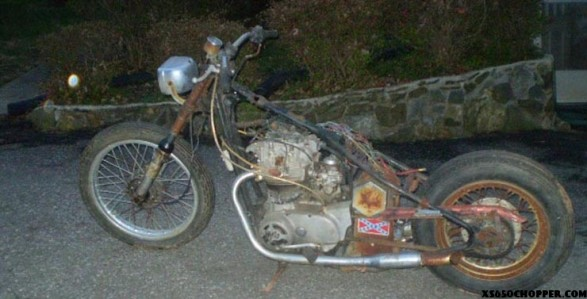 xs650 rescue x2 (looking for stock parts)
