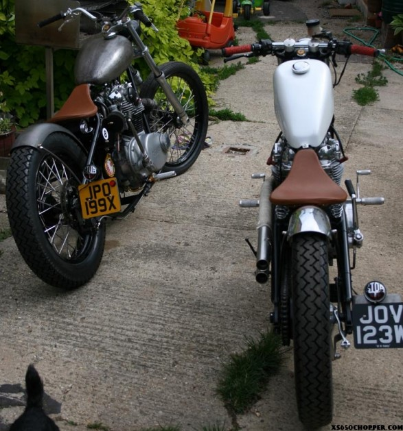 xs650 chop IMG 1615 587x629 Hoodwink Hotrods pair of Six Fiddies