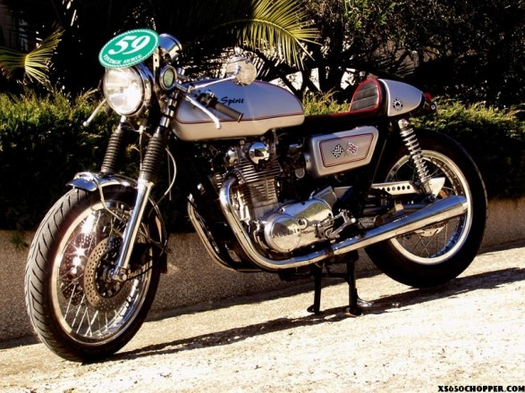 XS caferacer from France