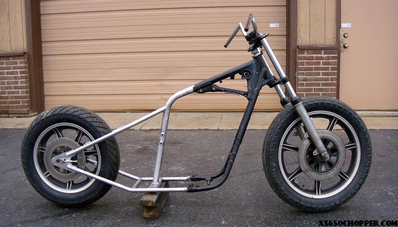 DO IT YOURSELF XS650 HARDTAIL KIT – The ARDTAIL!   XS650 Chopper