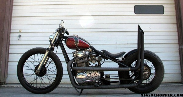 The Holy xs650 – Leadfist '79