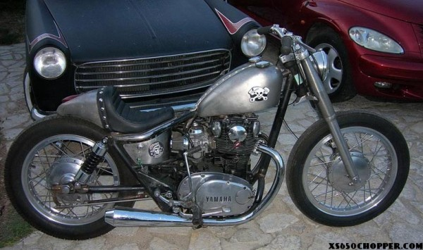 """Little twin by """"Greaser Garage"""" xs650"""