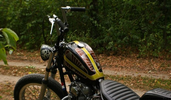 Jon Helm - 1977 XS Chopper