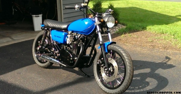 Black and Blue XS650-1 2014