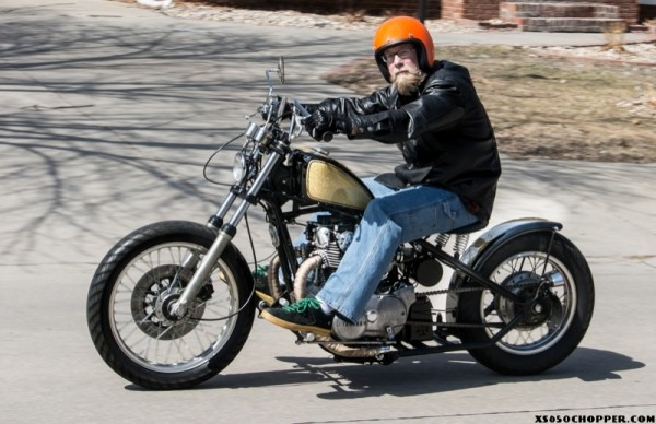 1981 XS 650 Go for the Gold