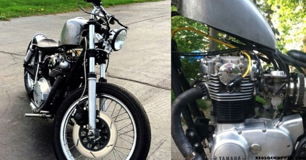 "Marty's 81′ XS650 ""Twist it N Shift it"""