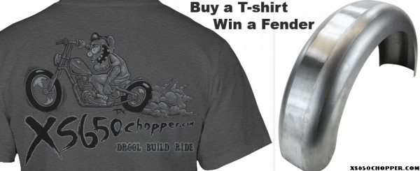 Buy a T-shirt – Win a Fender