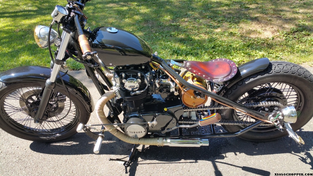 Dave's first xs650 project