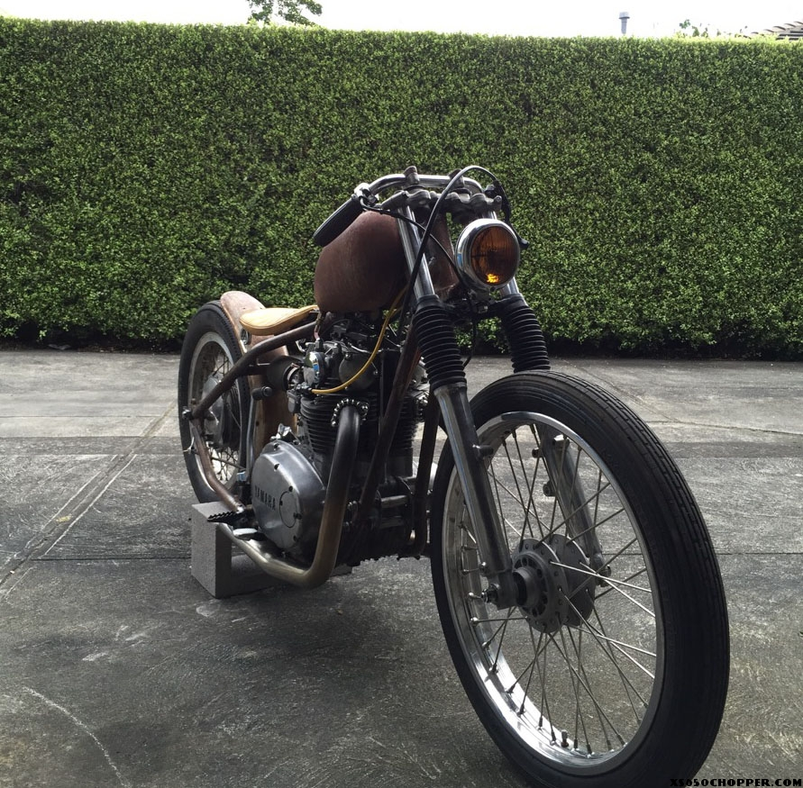 Jason barratt XS650 bobber