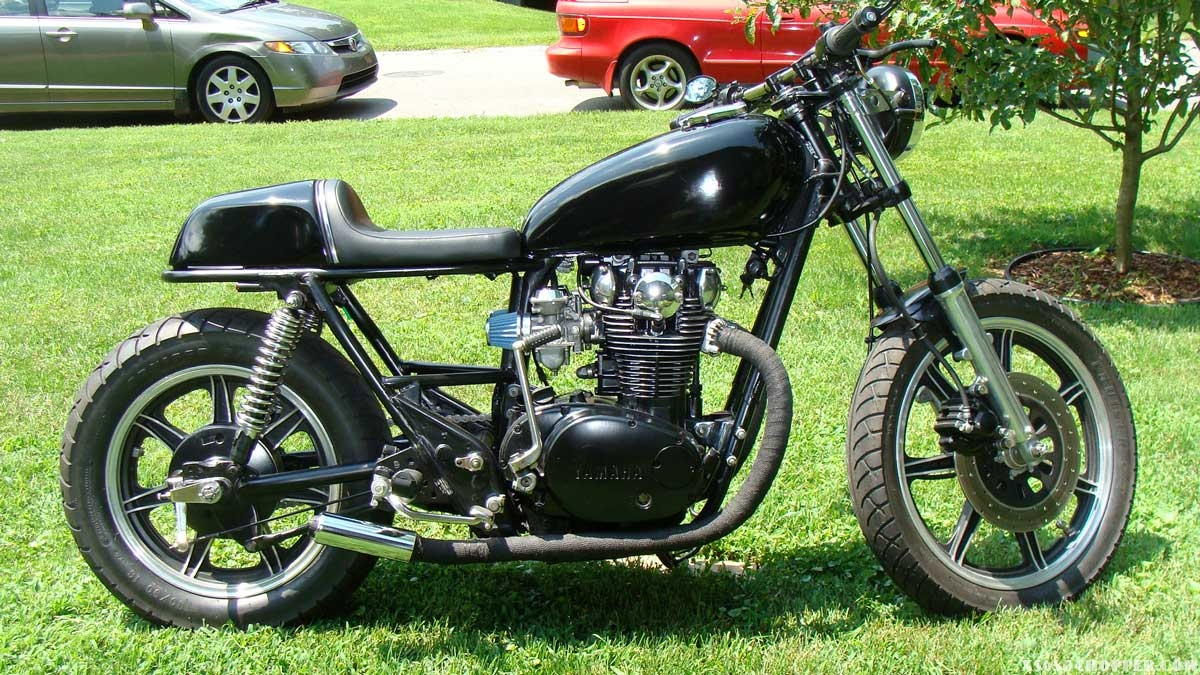 Chris xs650 Cafe for Sale