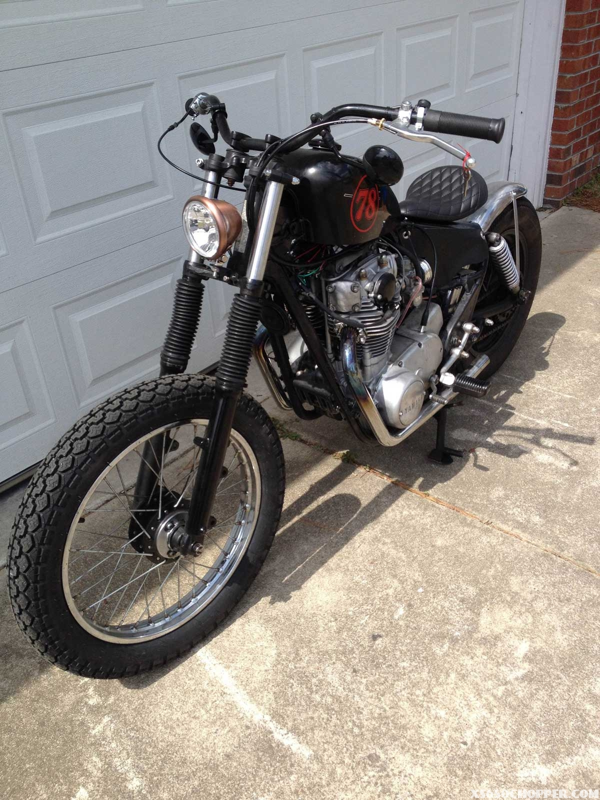 1978 xs650 special  bobber