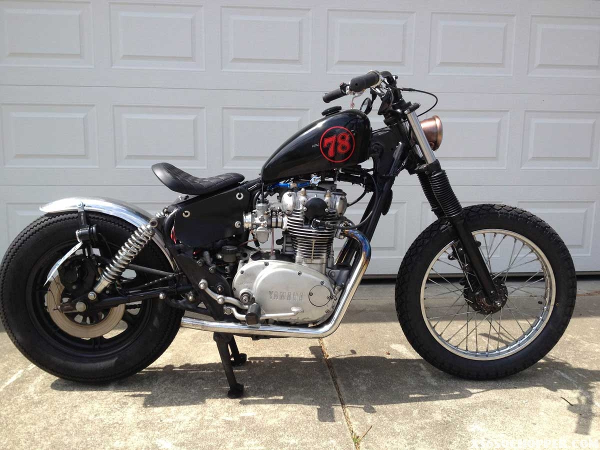 1978 yamaha 650 special bobber pictures to pin on pinterest pinsdaddy. Black Bedroom Furniture Sets. Home Design Ideas