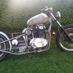 Brandon xs650 Rat Build
