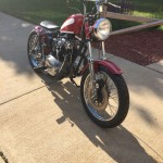 1972 Wingedwheel Bobber Build
