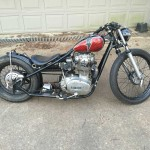 74 bobber red lightning