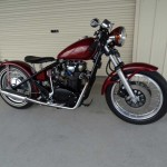 bobber xs650 wrecked