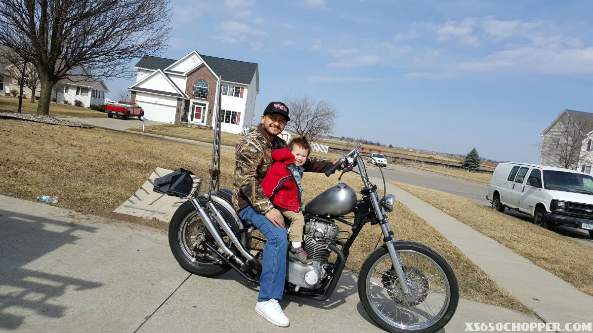 erwin xs650 2 father son