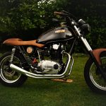 One Ton Motorcycle Customizing xs 650 The Black Beast 1979